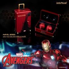 infoThink Marvel series Les héros true wireless Bluetooth headset-iron Man