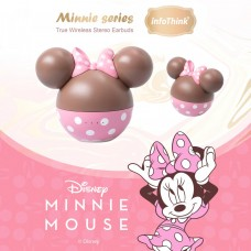 infoThink  Minnie series True Wireless Stereo Earbuds(Strawberry Chocolate Limited Model)