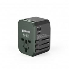 XPower TA4PD 45W Type-C PD & QC Travel Adapter