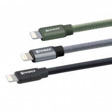 XPOWER 3rd Generation 1.2M Aluminium Alloy MFI Lightning Cable